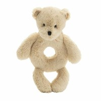 JELLYCAT INC BASHFUL HONEY BEAR RING RATTLE