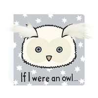 JELLYCAT INC IF I WERE AN OWL BOARD BOOK