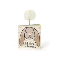 JELLYCAT INC IF I WERE A BUNNY BOARD BOOK - BEIGE