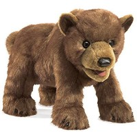 FOLKMANIS BROWN BEAR CUB PUPPET