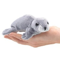 FOLKMANIS MINI MONK SEAL FINGER PUPPET