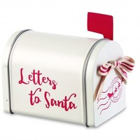 MUD PIE LETTERS TO SANTA MINI MAILBOX