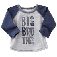 MUD PIE BIG BROTHER RAGLAN TEE