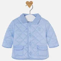 MAYORAL USA MAYORAL DIAMOND QUILTED COAT