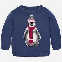 MAYORAL USA PENGUIN SWEATER
