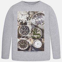 MAYORAL USA LONG SLEEVE WATCH T-SHIRT