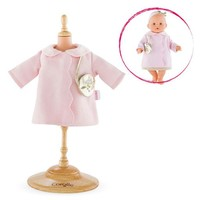 """COROLLE GLITTER CLOUD COAT FOR A 14"""" BABY DOLL"""