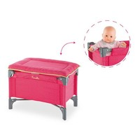 COROLLE DOLL CHERRY BED & CHANGING TABLE