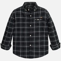 MAYORAL USA CHECKED BUTTON DOWN SHIRT