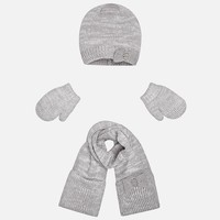 MAYORAL USA HAT SCARF & MITTENS
