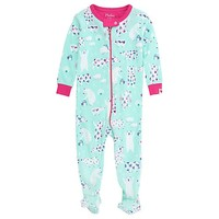 HATLEY ARCTIC PARTY FOOTED COVERALL