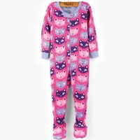HATLEY SILLY KITTIES FOOTED COVERALL