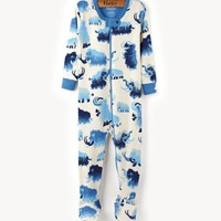 HATLEY WOOLY MAMMOTH FOOTED COVERALL
