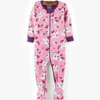 HATLEY WINGED UNICORN FOOTED COVERALL