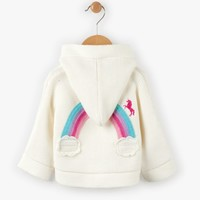 HATLEY CHASING RAINBOWS DUFFLE SWEATER
