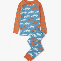 HATLEY DERBY CARS LONG SLEEVE PAJAMA SET