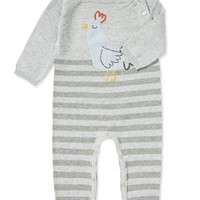 ANGEL DEAR INTARSIA ROOSTER COVERALL