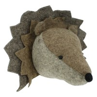 FIONA WALKER FIONA WALKER ENGLAND HEDGEHOG HEAD WALL DECOR