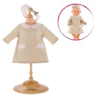 "COROLLE GLITTER CLOUD DRESS FOR A 12"" BABY DOLL"