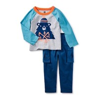 TEA MUNRO BEAR BABY OUTFIT