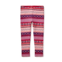 TEA FAIR ISLE STRIPE LEGGINGS
