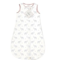SWADDLE DESIGNS ZIP-ME SLEEP SACK  ELEPHANTS & CHICKIES