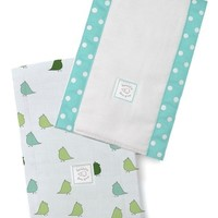 SWADDLE DESIGNS BABY BURPIES SET-LITTLE CHICKIES