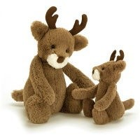 JELLYCAT INC BASHFUL SMALL REINDEER
