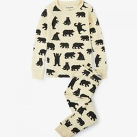 HATLEY BLACK BEARS PAJAMA SET