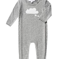 ANGEL DEAR INTARSIA CLOUD COVERALL
