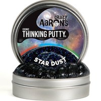 "CRAZY AARON CRAZY AARON'S 4"" STAR DUST THINKING PUTTY"