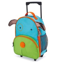 SKIP HOP ZOO KIDS ROLLING LUGGAGE-PUPPY