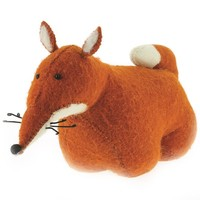 FIONA WALKER FIONA WALKER ENGLAND FOX BOOK/DOOR STOPPER