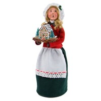 BYERS WOMAN WITH GINGERBREAD