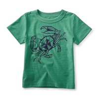 TEA CRAB LEGS GRAPHIC TEE