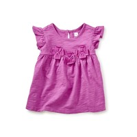 TEA HOVEA APPLIQUE BABY TUNIC