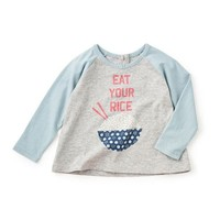 TEA RICE BOWL GRAPHIC TEE