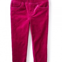 TEA STRETCH VELVET PIPER PANTS