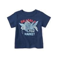 TEA FISH MARKET GRAPHIC TEE