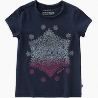LUCKY BRAND LUCKY BRAND MILLIE GRAPHIC TEE
