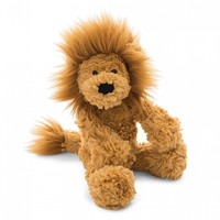 JELLYCAT INC SMALL SQUIGGLE LION
