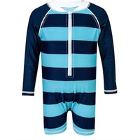 SNAPPER ROCK RUGBY STRIPE RASHGUARD SUIT