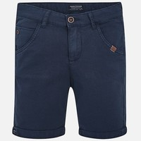 MAYORAL USA STRUCTURED STRETCH SHORTS