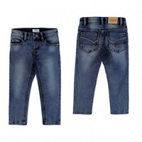 MAYORAL USA KNITTED DENIM JEANS