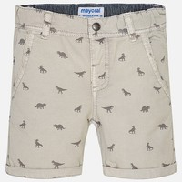 MAYORAL USA DINO PATTERNED SHORTS
