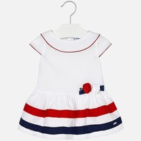 MAYORAL USA POPLIN DRESS