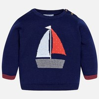 MAYORAL USA NAUTICAL SWEATER
