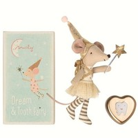 MAILEG MAILEG TOOTH FAIRY BIG SISTER MOUSE WITH METAL BOX