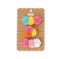 MUD PIE MINI PUFF SOFT HEADBANDS