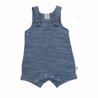 TINY TWIG ORGANIC CHAMBRAY OVERALL